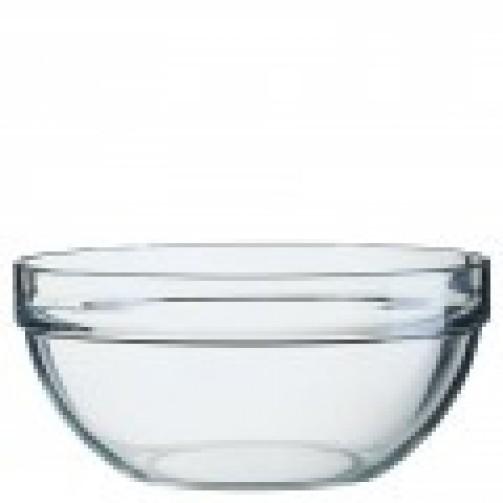Miska szklana, śr. 26 cm, wys. 11,9 cm, poj. 4,5 l