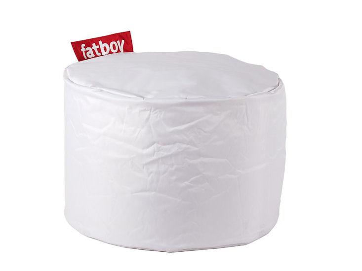 Pufa Fatboy Point, biała, śr. 50 cm, wys. 40 cm,