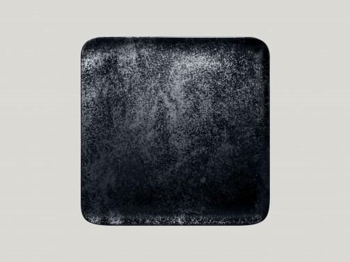 Talerz, 27 x 27 cm, Karbon