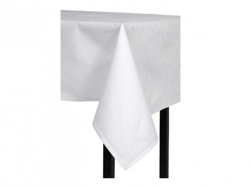 Obrus bawełniany, biały, 1,30 x 2,80 m