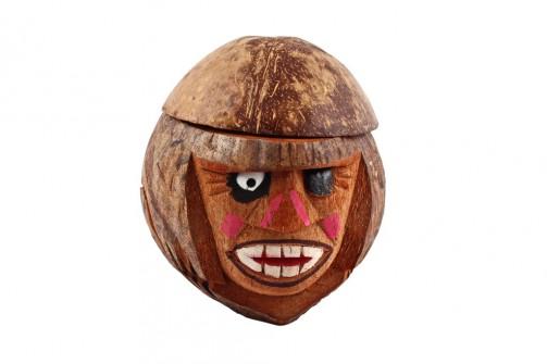 Pojemnik naszklankę zorzecha kokosowego ,,Małpa Pete