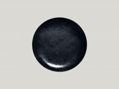 Talerz deserowy, śr. 21cm, Karbon