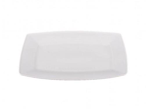 Półmisek prostokątny, biały, 38 x 27 cm