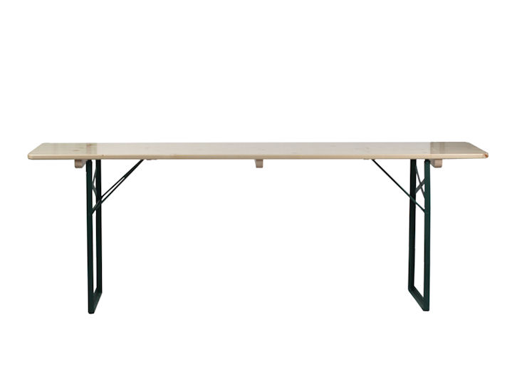 Stół biesiadny, naturalny, 2,20 x 0,50 m