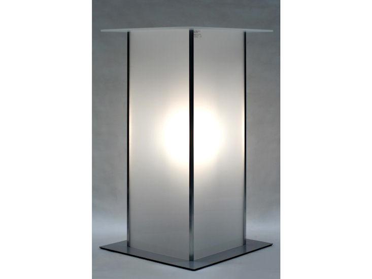 Stół koktajlowy Alpha, podświetlany, 60 x 60 cm