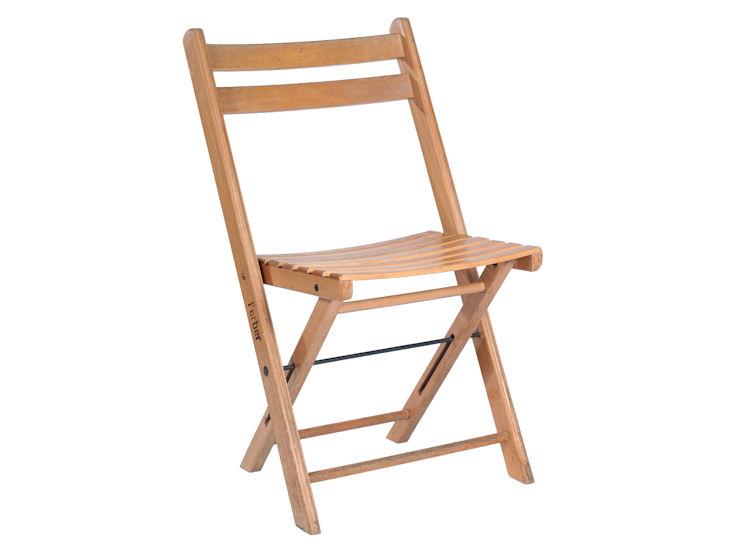 Krzesło składane, drewniane