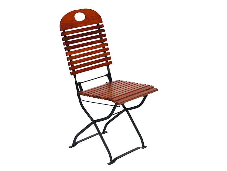Krzesło ogrodowe, drewniane,