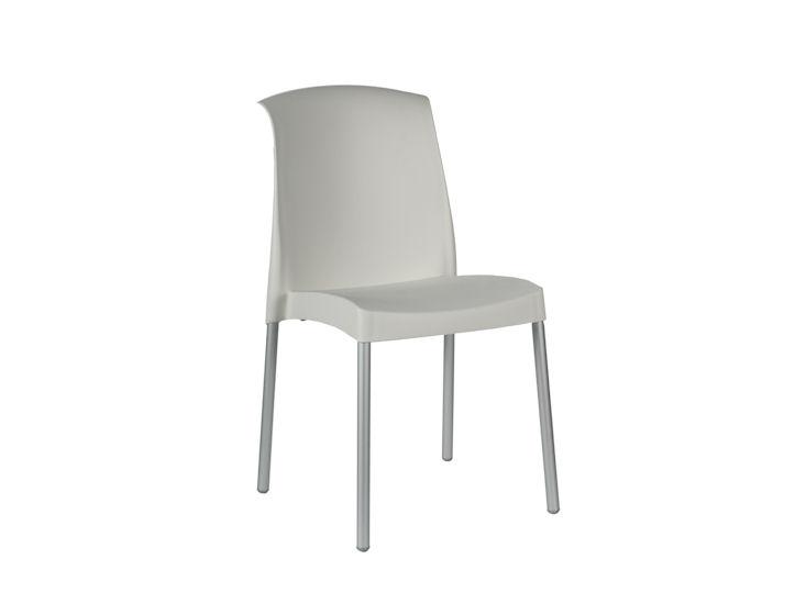 Krzesło Jenny, białe