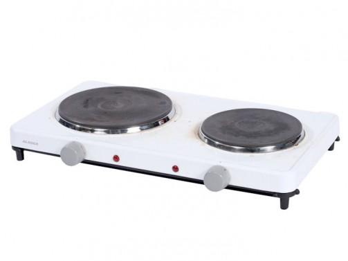 Kuchenka elektryczna, 2-palnikowa