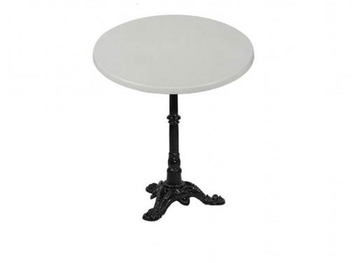 Stolik, biały, śr. 80cm