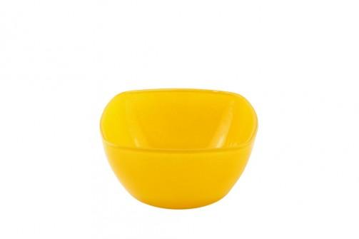 Miseczka Delia, 10 x 10 cm, żółta, 100ml