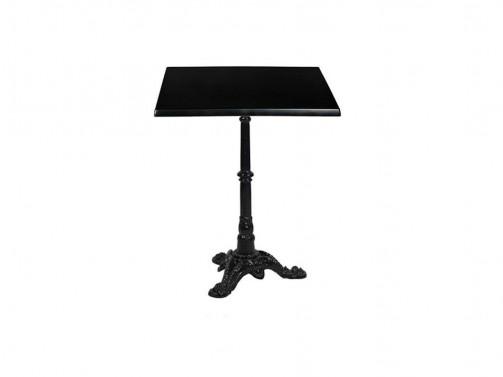 Stolik, czarny, 60 x 60 cm