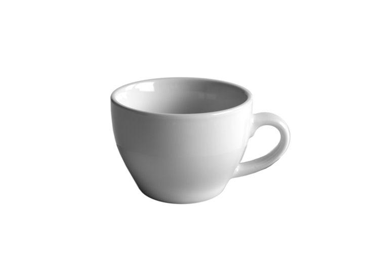 Filiżanka cappuccino, biała, 150ml
