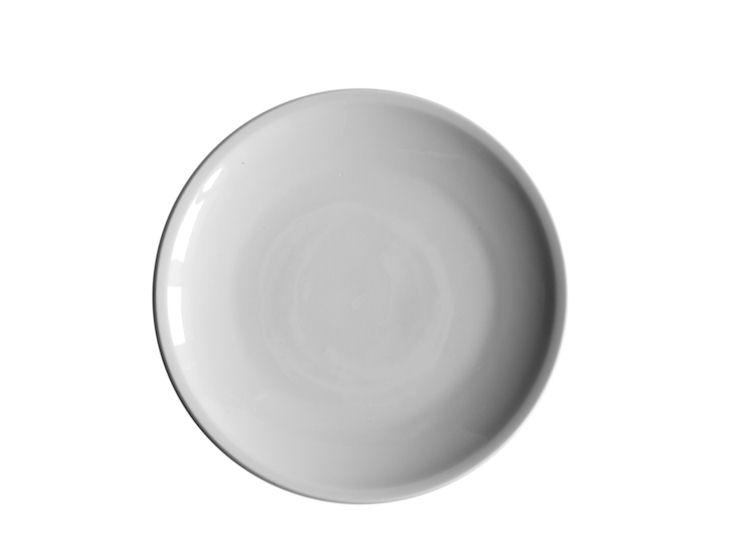 Talerz obiadowy, śr. 28 cm,biały