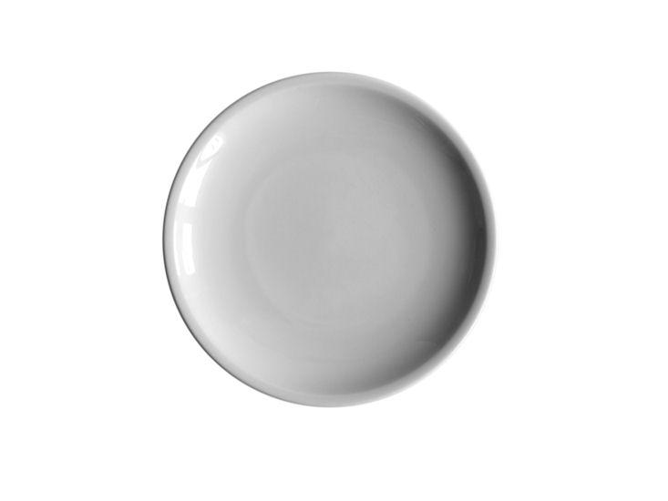 Talerz obiadowy, śr. 24cm,biały