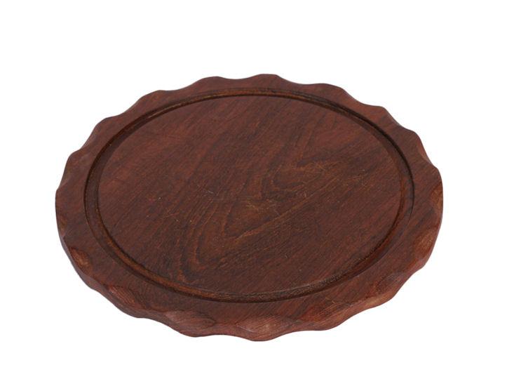 Deska drewniana, śr. 25 cm