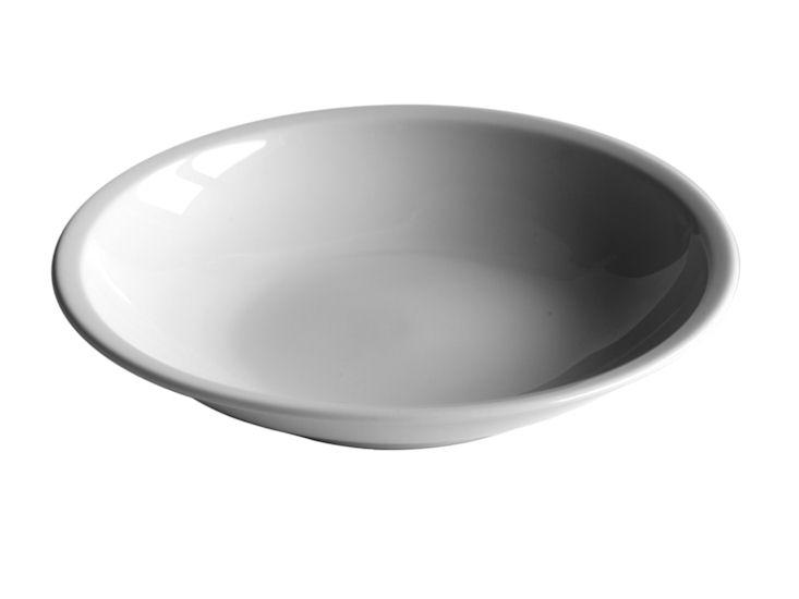 Talerz głęboki, śr. 21 cm, biały, 300ml