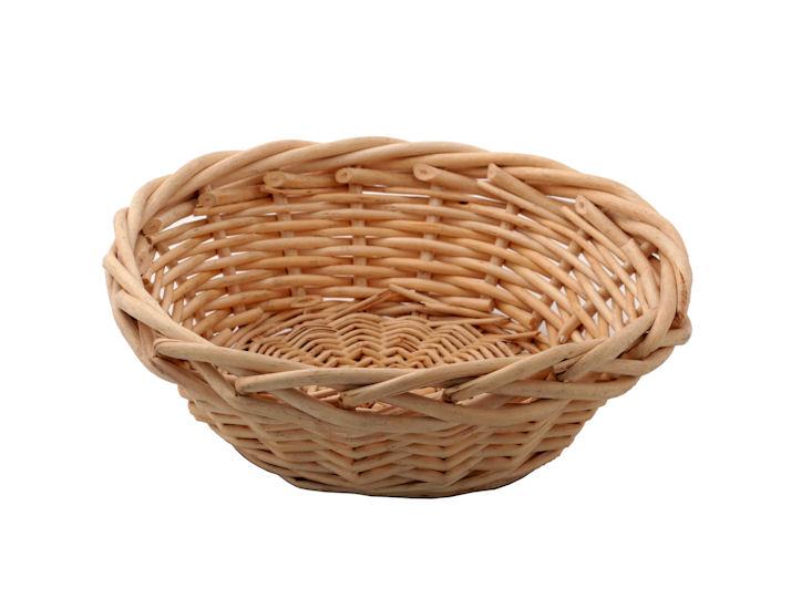 Koszyk nachleb, okrągły