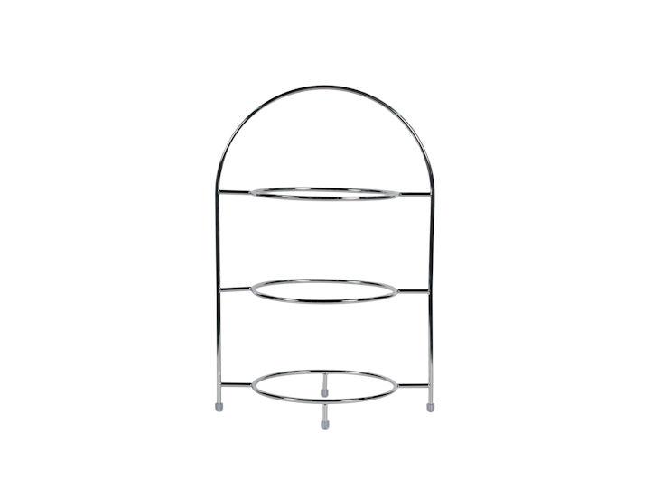 Stojak piętrowy na3 talerze omax. śr. 27,5 cm, wys. 43 cm