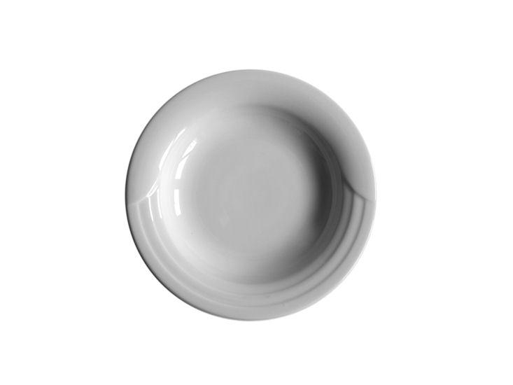 Talerz głęboki, śr. 23 cm, biały, Lotus, 200ml