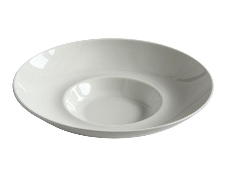 Talerz głęboki Gourmet, śr. 26 cm, Fine Dine, ecru