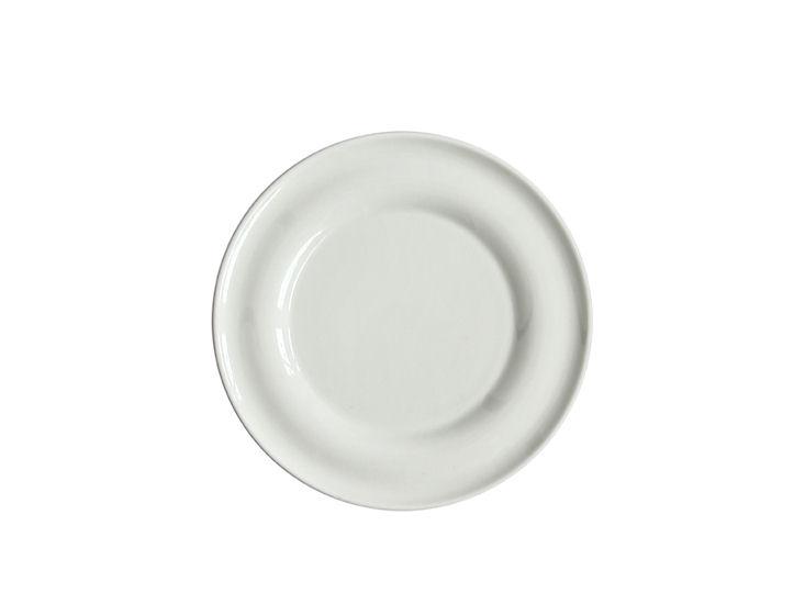 Talerz deserowy, śr. 21 cm, Lyra, ecru