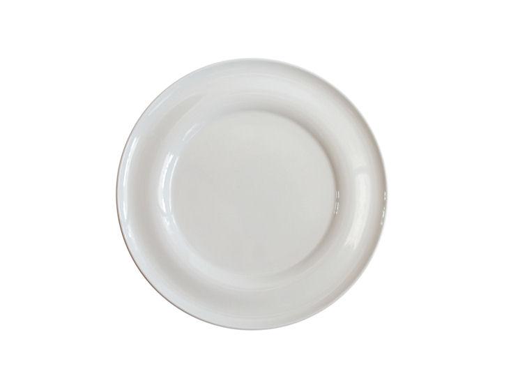 Talerz obiadowy, śr. 27 cm, Lyra, ecru