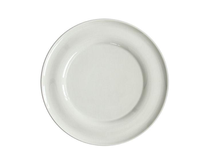 Talerz obiadowy, śr. 29 cm, Lyra, ecru