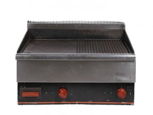 Płyta grillowa, elektryczna, gładka