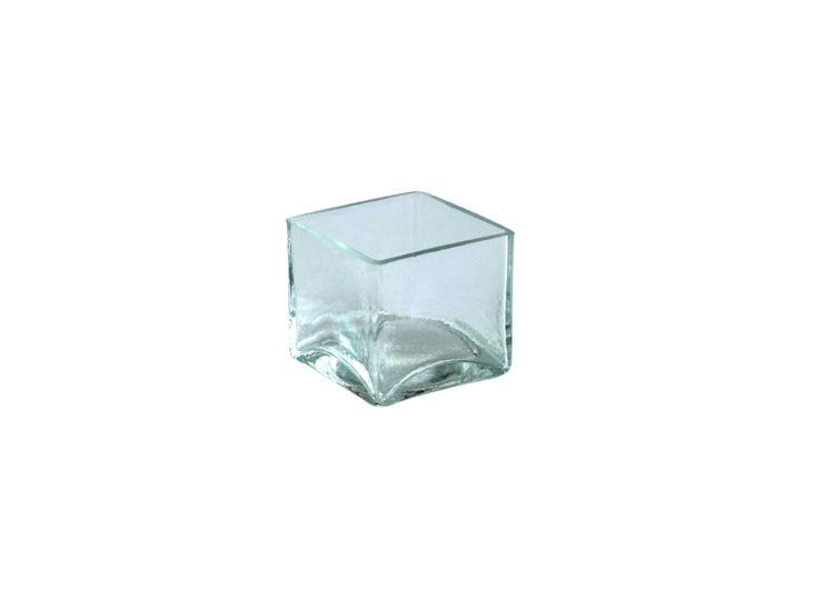 Miska szklana, 4,9 x 4,9 cm, <br />wys. 4,5 cm