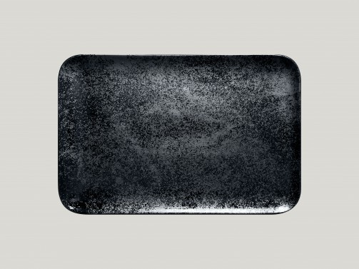 Półmisek czarny, 38 x 21 cm, Karbon