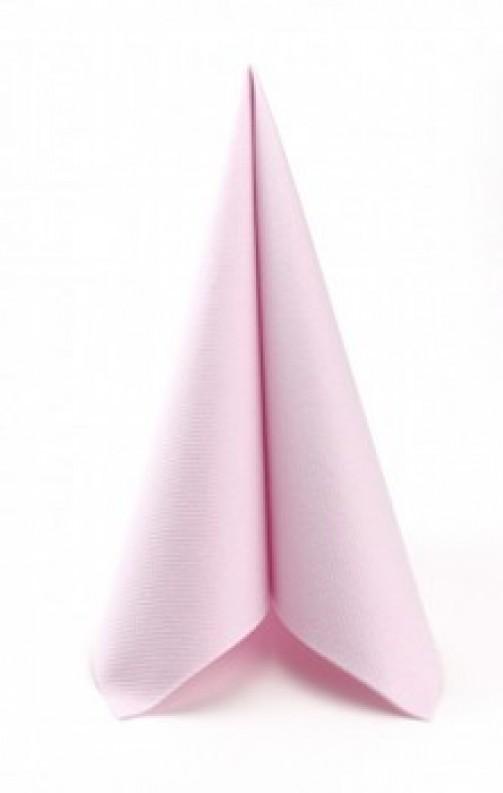 Serweta bawełniana, 50 x 50 cm, różowa
