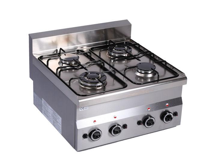 Kuchenka gazowa, 4-palnikowa