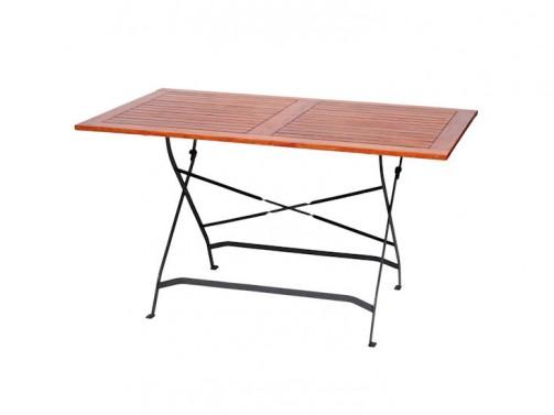 Stół ogrodowy, drewniany, 1,30 x 0,80 m,