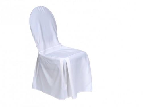 Krzesło bankietowe +biały pokrowiec / wyprasowany