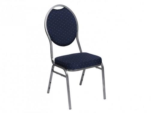 Krzesło bankietowe, granatowe