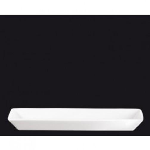 Talerz / Półmisek, 24 x 8 x 2,5 cm, biały, żaroodporny