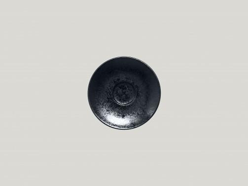 Podstawek espresso, śr. 13cm, Karbon