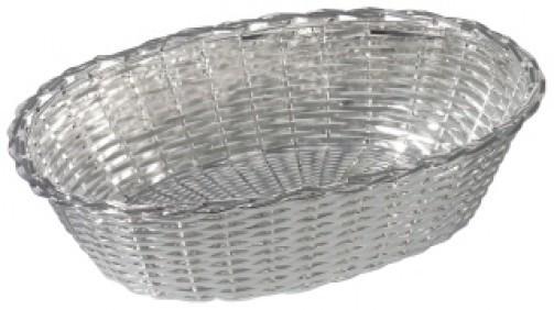 Koszyk nachleb, posrebrzany