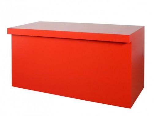 Element bufetu, czerwony lub szary