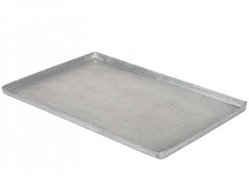 Blacha wypiekowa EN, 600 x 400 mm, płaska