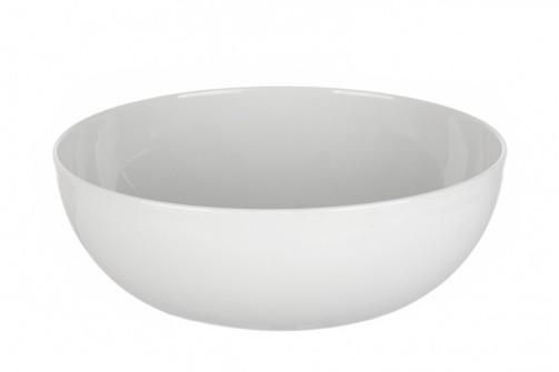 Miska, śr. 25 cm, biały, 2,5l