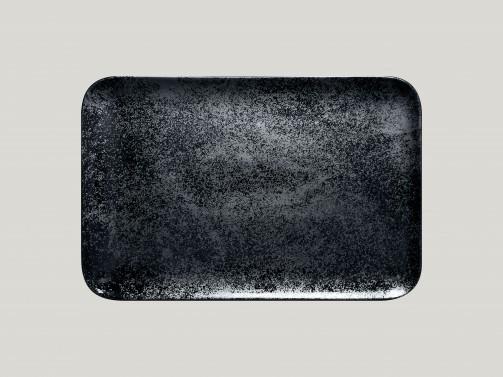 Półmisek czarny, 33 x 22 cm, Karbon