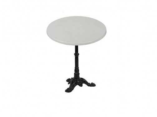 Stolik, biały, śr. 60cm