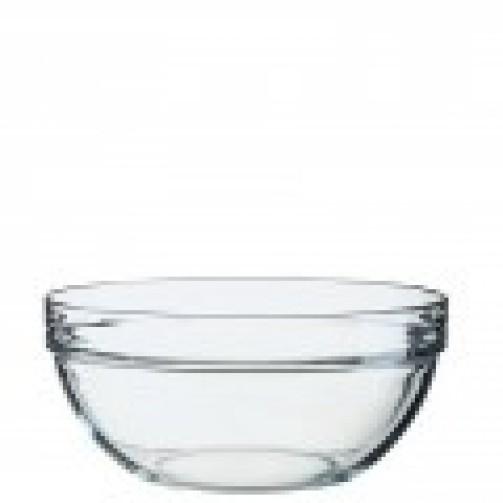 Miska szklana, śr. 23 cm, wys. 10,5 cm, poj. 2,6 l