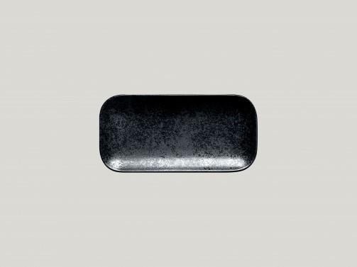 Talerz, 22 x 11 cm, Karbon