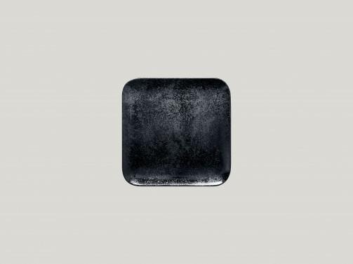 Talerz, 15 x 15 cm, Karbon