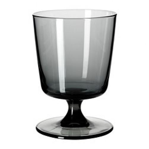 Kieliszek dowina białego BEDARANDE, czarne szkło