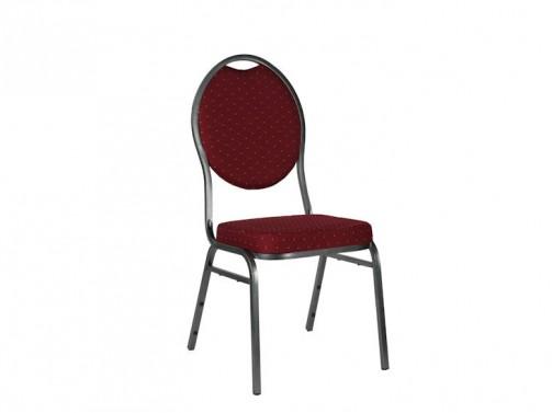 Krzesło bankietowe, bordowe