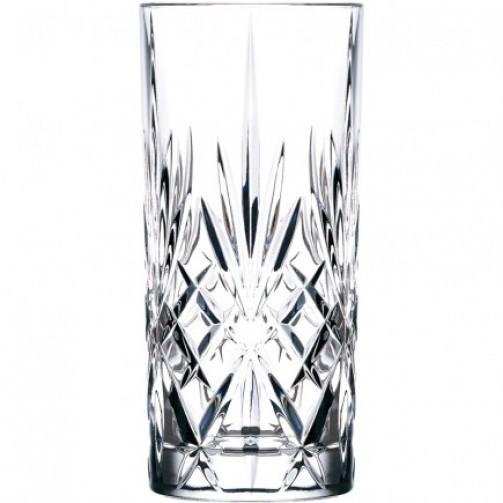 Szklanka Long, kryształ, Melodia